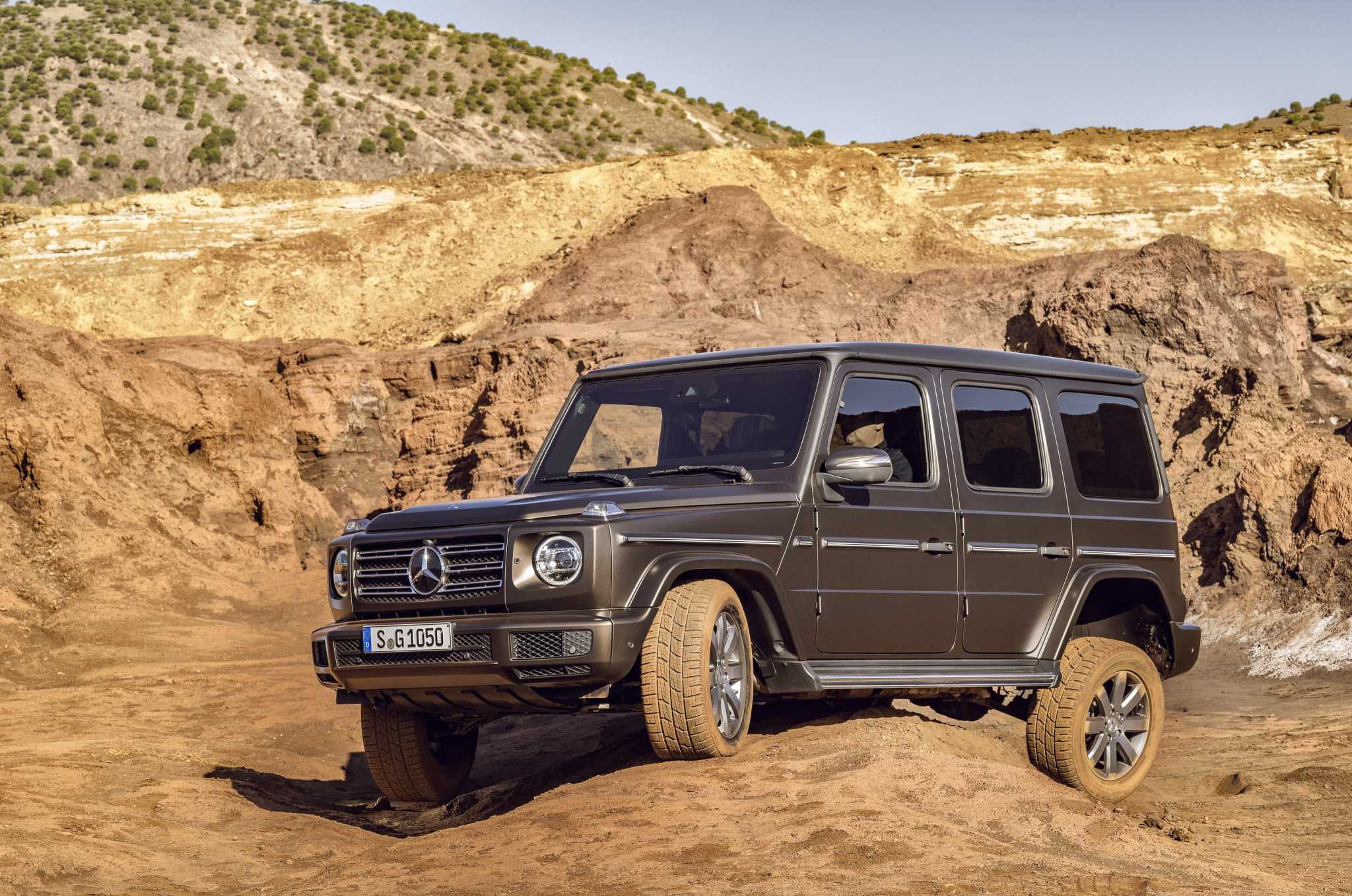 Mercedes-benz G550: From Spartan to posh