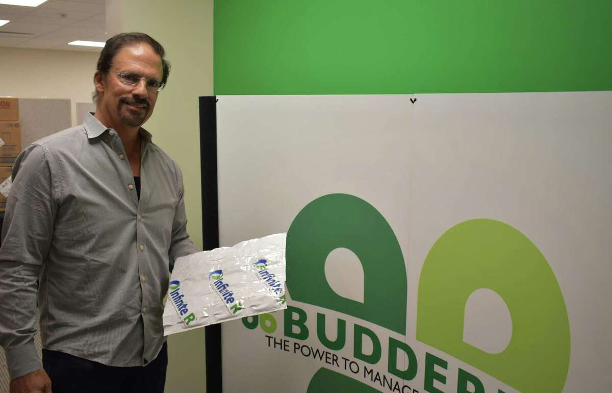 Budderfly CEO Al Subbloie at the company's Shelton, Conn. headquarters in September 2019. The company secured $55 million from backers in the second quarter, among the largest private venture fundings by a Connecticut technology company during the current economic expansion.