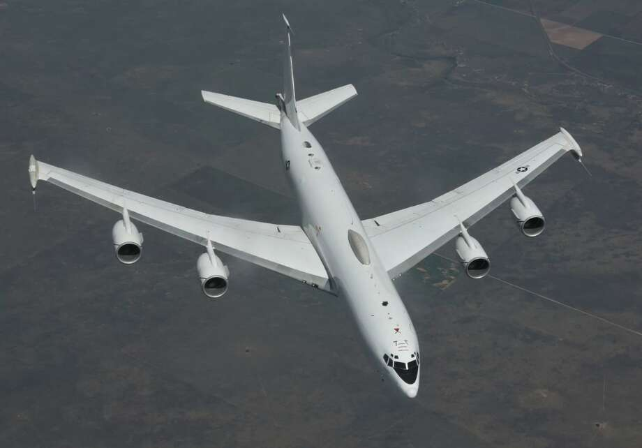 An E-6B Mercury flies over Colorado on Aug. 23. Photo: (Greg L. Davis/72nd Air Base Wing Public Affair) (Greg L. Davis/U.S. Air Force)