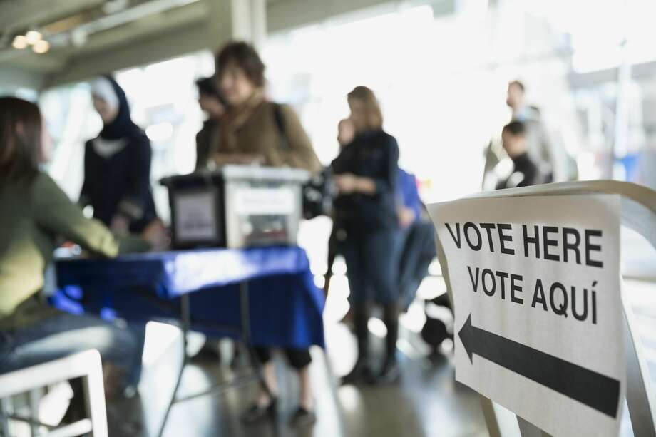 PHOTOS: Weird polling locations in HoustonWhile some Houston voters will head to their local elementary school or church on voting day, others will be casting their ballot at funeral homes and hotels.>>>See the most unusual polling locations for the 2019 November election in Houston... Photo: Getty Images