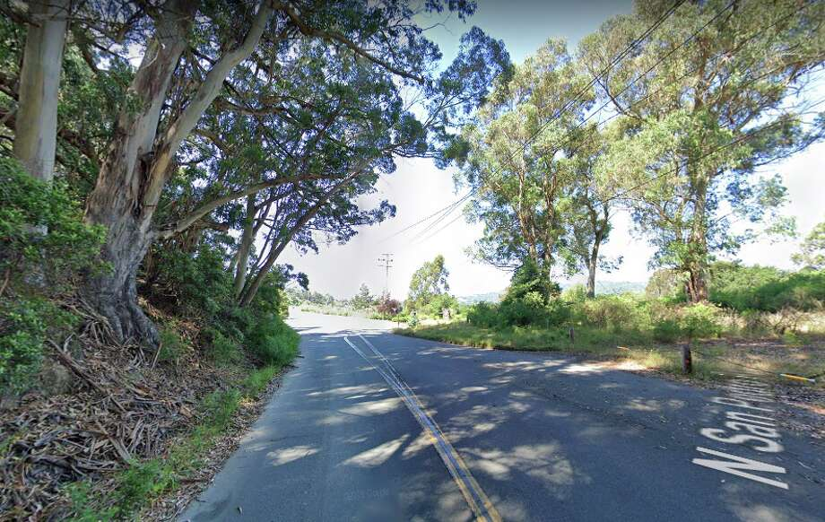 The Marin County Sheriff's Office is investigating a possible crime after a body was found Friday at 1400 N. San Pedro Road (above) in San Rafael. Photo: Google Street View