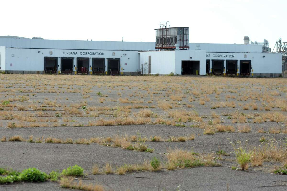 The former Turbana Corporation property on Seaview Ave., in Bridgeport, Conn. Oct. 10, 2019. Massachusetts-based Vineyard Wind is looking at the property on Bridgeport Harbor as the location for their Park City Wind facility.