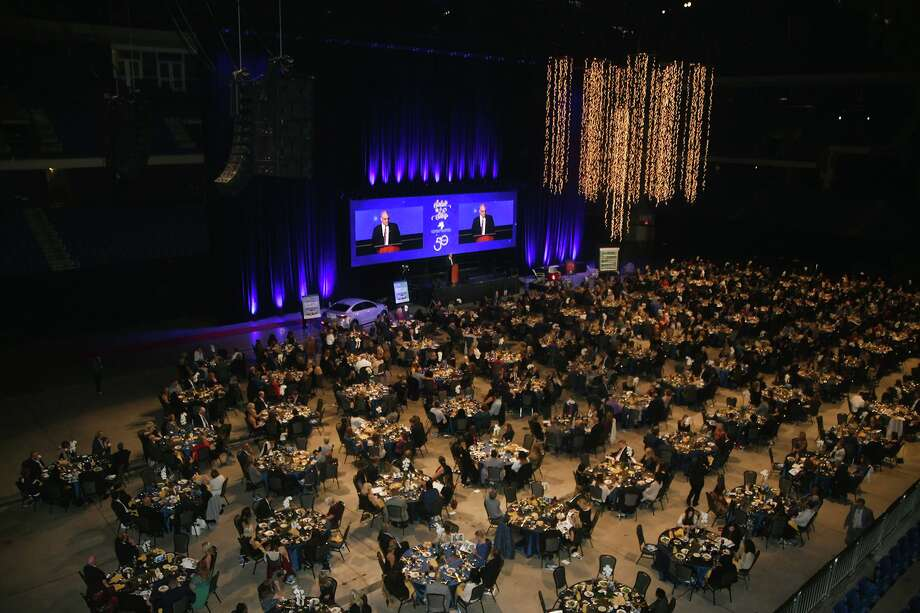 The 22nd annual Salute to the Stars Gala, held Oct. 17, 2019 at Berry Center, hosted approximately 900 guests. Photo: Provided By Cy-Fair ISD