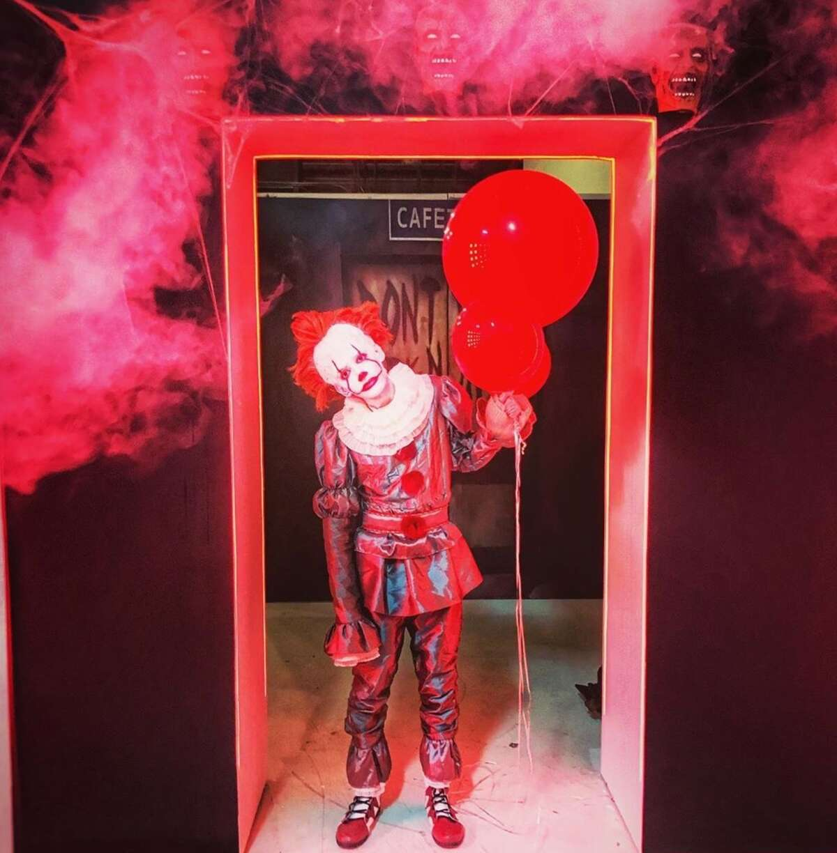 Houston's first interactive Halloween pop-up allows visitors to take part in a chilling photographic experience with professional scary sets, actors, and props.