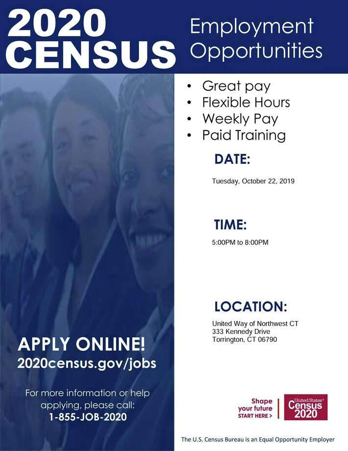 The United Way of Northwest Connecticut has formed its own census committee, the Local Complete Count Committee, to assist with the upcoming U.S. Census. Photo: Contributed Photo