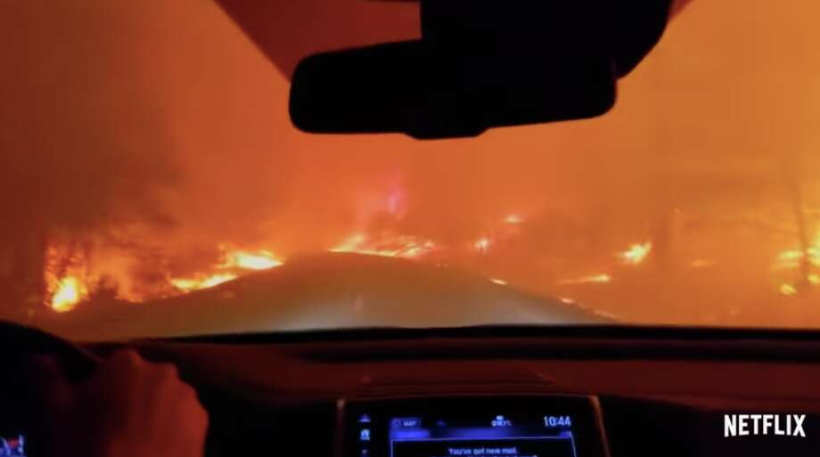 "A still from ""Fire in Paradise,"" a Netflix documentary covering the 2018 Camp Fire in Butte County, Calif. Photo: Netflix"