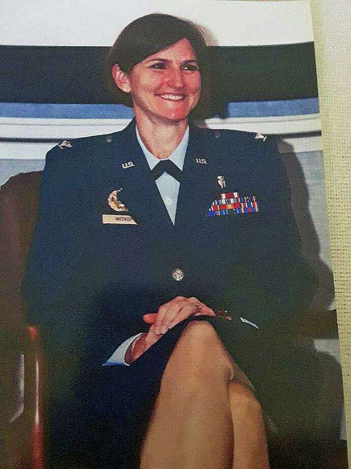 Col. (ret) Dr. Catherine Takacs Witkop recently retired after a long career with the U.S. Air Force Medical Corps. Witkop is a Torrington native whose parents still live in the city. Photo: Contributed Photo /