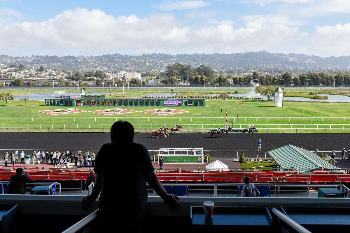 Horse racing at Golden Gate Fields on October 18, 2019 in Oakland, Calif.
