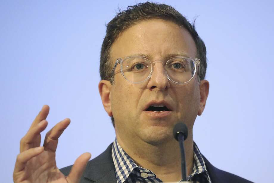 Facebook executive Andy Pergam talks in Utah. Photo: Rick Bowmer / Associated Press