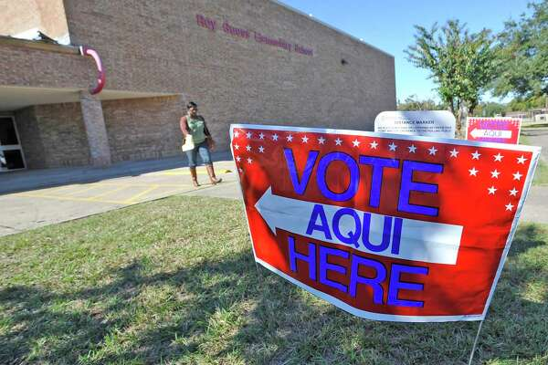 It's Election Day and over at Precinct 22, Roy Guess Elementary School, it was reported that early this morning there was a line out the door causing the precinct judge to request more voting machines. Dave Ryan/The Enterprise