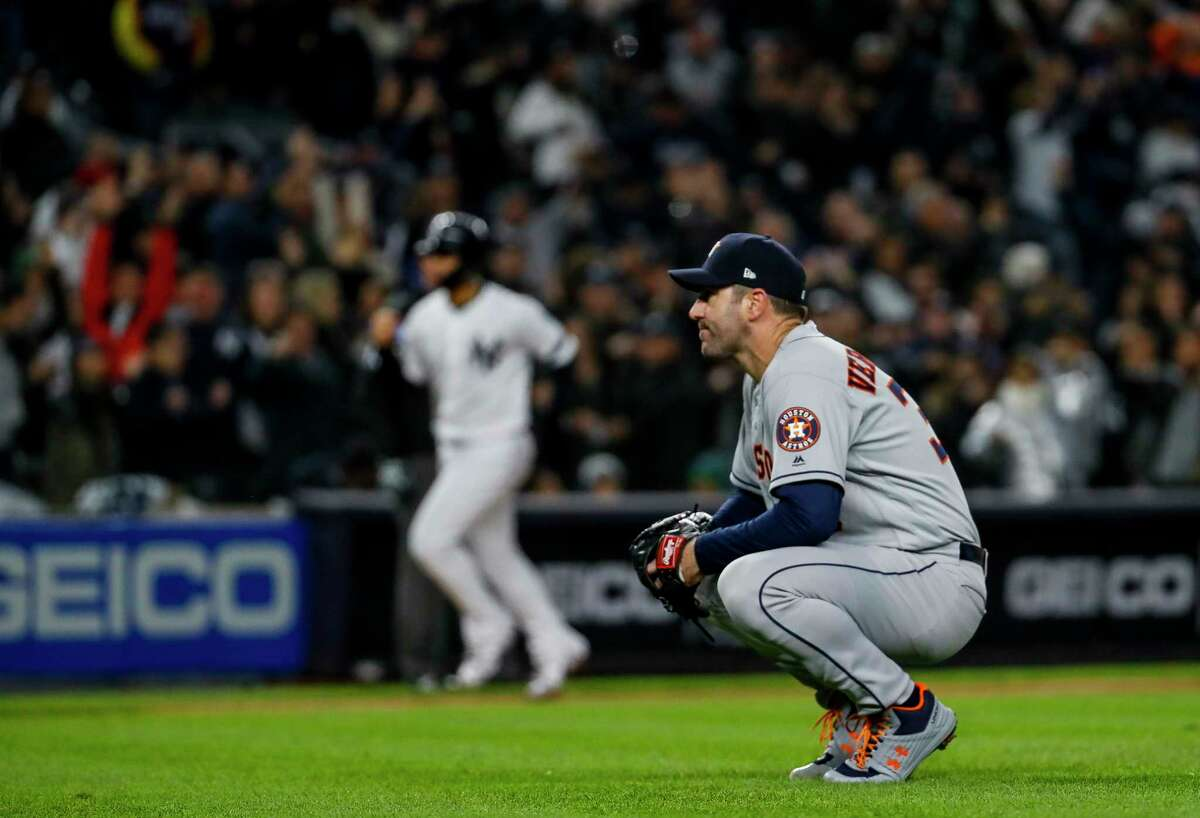 One subpar inning from Justin Verlander was all it took to derail the Astros in Friday's Game 5 of the ALCS against the Yankees.