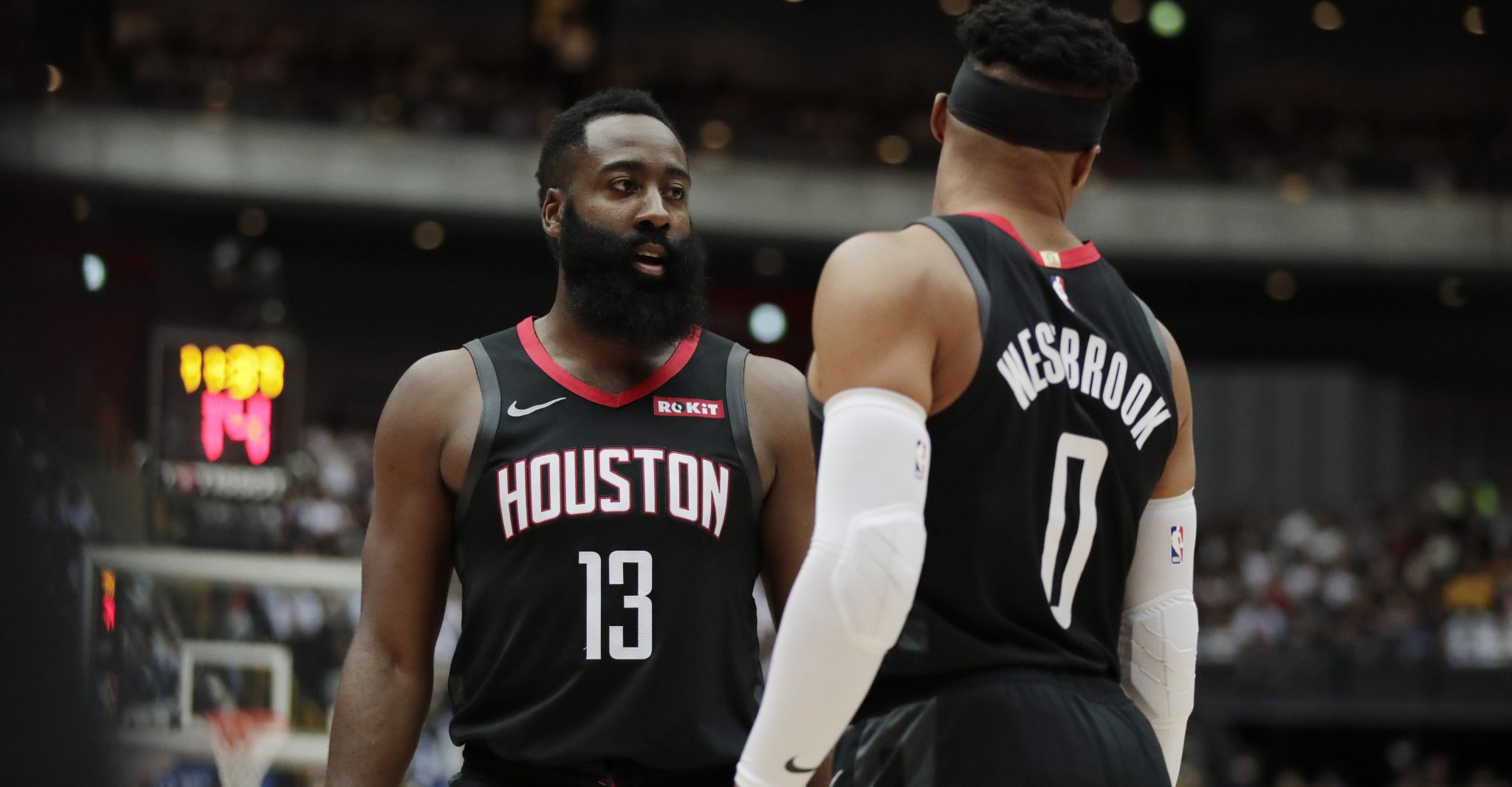 Heat's Erik Spoelstra expects James Harden, Russell Westbrook will 'figure it out'