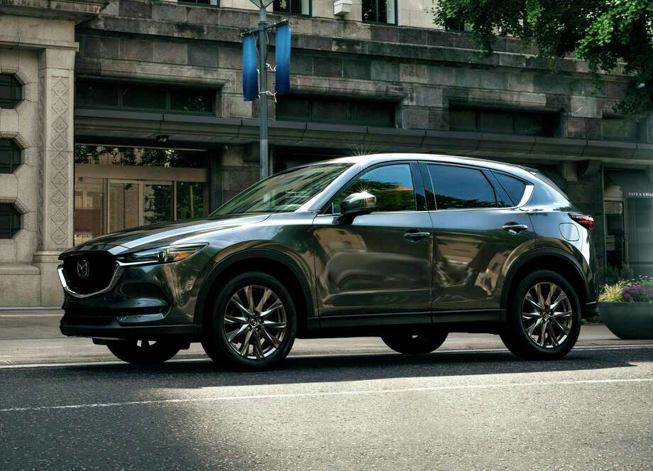 With Mazda's new-to-the-U.S. 290 lb.-ft. diesel engine, the all-wheel-drive 2019 CX-5 Signature can tow up to 3,500 pounds.