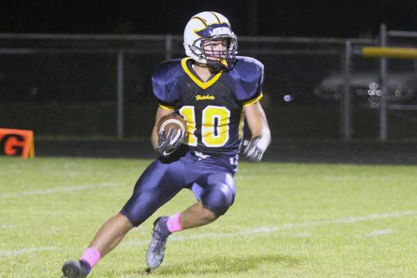 Bad Axe seizes victory on Parents Night against Caro by 41-27 margin on Friday, Oct. 18.