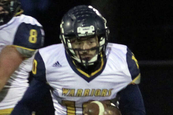The North Huron Warriors clinched a playoff berth in Week 9 with 46-20 road win over Burton Atherton.