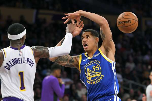 An Oakland native, Juan Toscano-Anderson soaks up every second in Warriors jersey