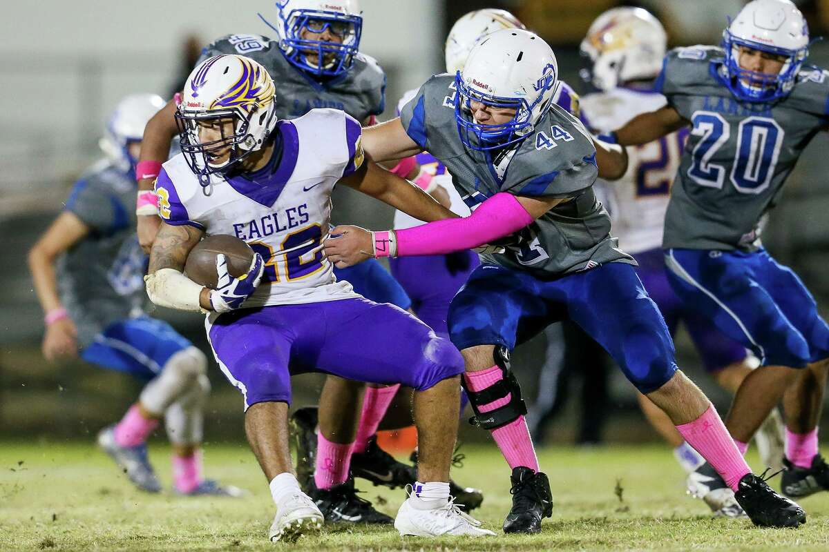 Lanier (2-5, 2-3) 30 vs. Highlands (0-7, 0-5) 6 7 p.m., Thursday, Oct. 24, Alamo Stadium  Highlands leads series 23-6  Previous meeting: 2018, Highlands 13-0  Last win for Lanier: 2016 (33-21)