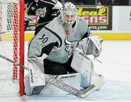 The Ontario Reign play the San Antonio Rampage during the second period of an AHL hockey game, Saturday, Dec. 9, 2017, in San Antonio, Texas. (Darren Abate/AHL)