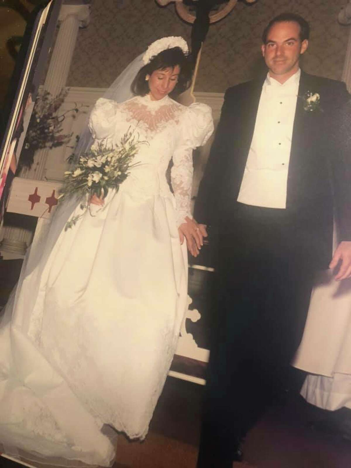 2. I wore my mother's wedding dress for my special day. I still remember trying it on for the first time when I was little and knowing from that moment I wanted to wear it when I got married. Hopefully it brings Tyson and me the same luck it brought my parents (they're celebrating their 30th anniversary this month).
