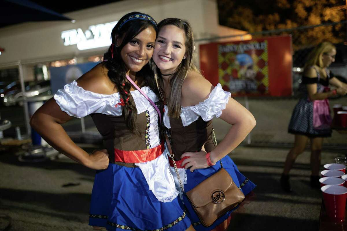 Oktoberfest at King's BierHaus in Houston TX on Friday, October 18, 2019
