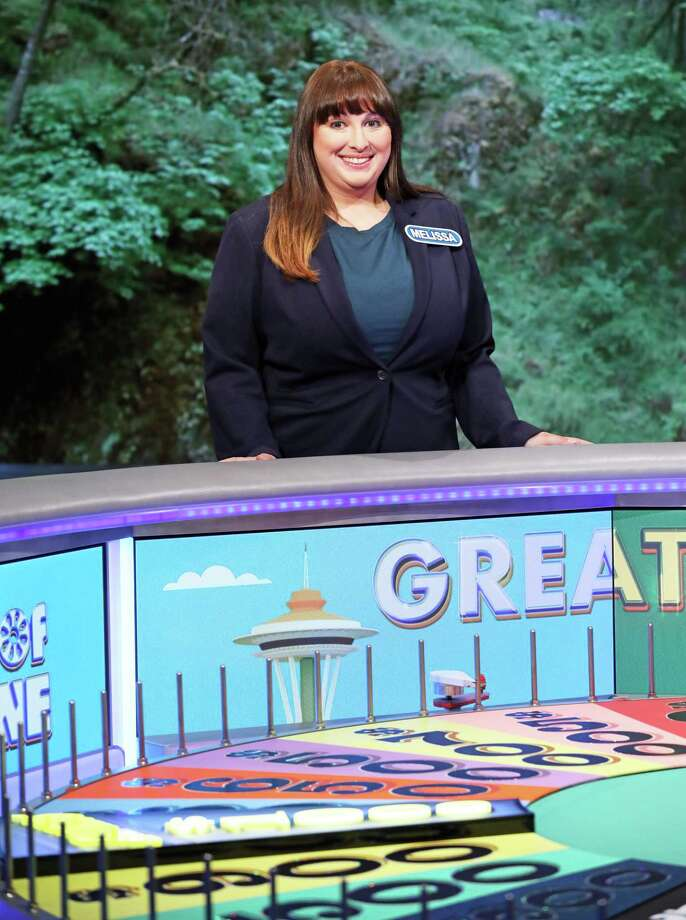 Melissa Daoust of Middletown was a contestant on Wheel of Fortune Oct. 18. Photo: Carol Kaelson Photo / © 2019 Califon Productions, Inc.