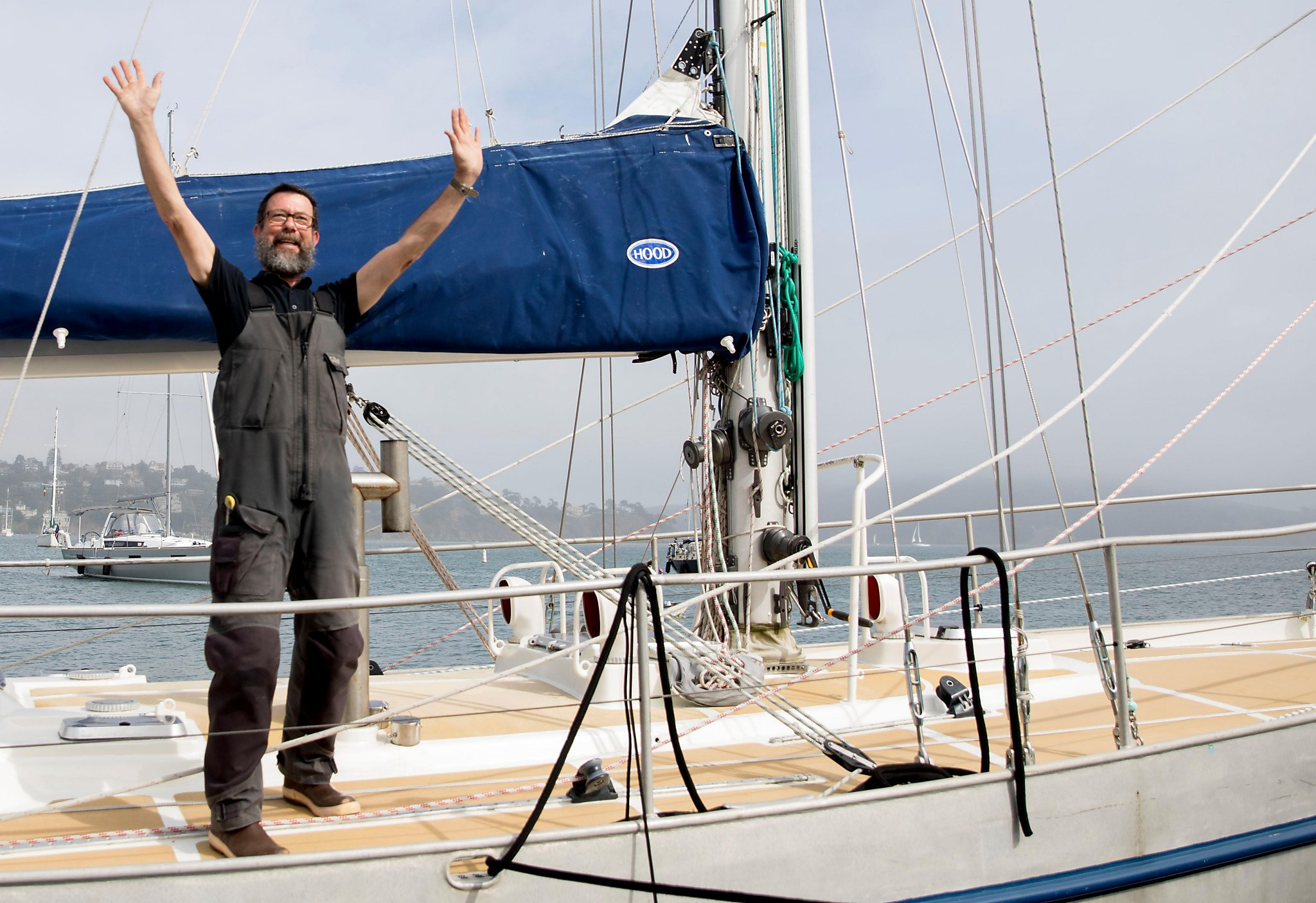 Solo sailor arrives back in Sausalito after a voyage for the ages