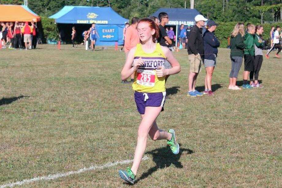 Taylor Myers races at the Moss Invitational earlier this season. (File photo)