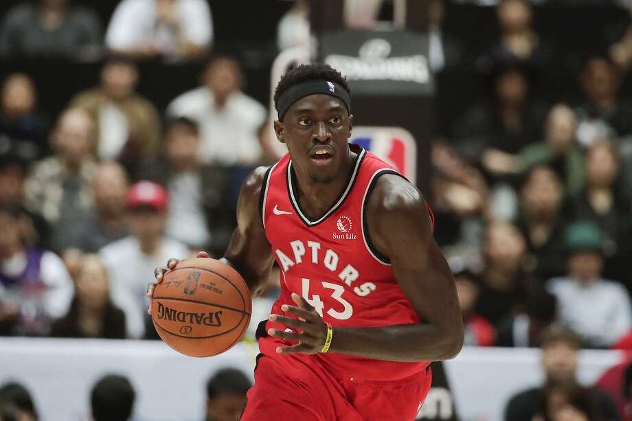 Pascal Siakam was the NBA's Most Improved Player last season, averaging career highs of 16.9 points and 6.9 rebounds. Photo: Jae C. Hong / Associated Press