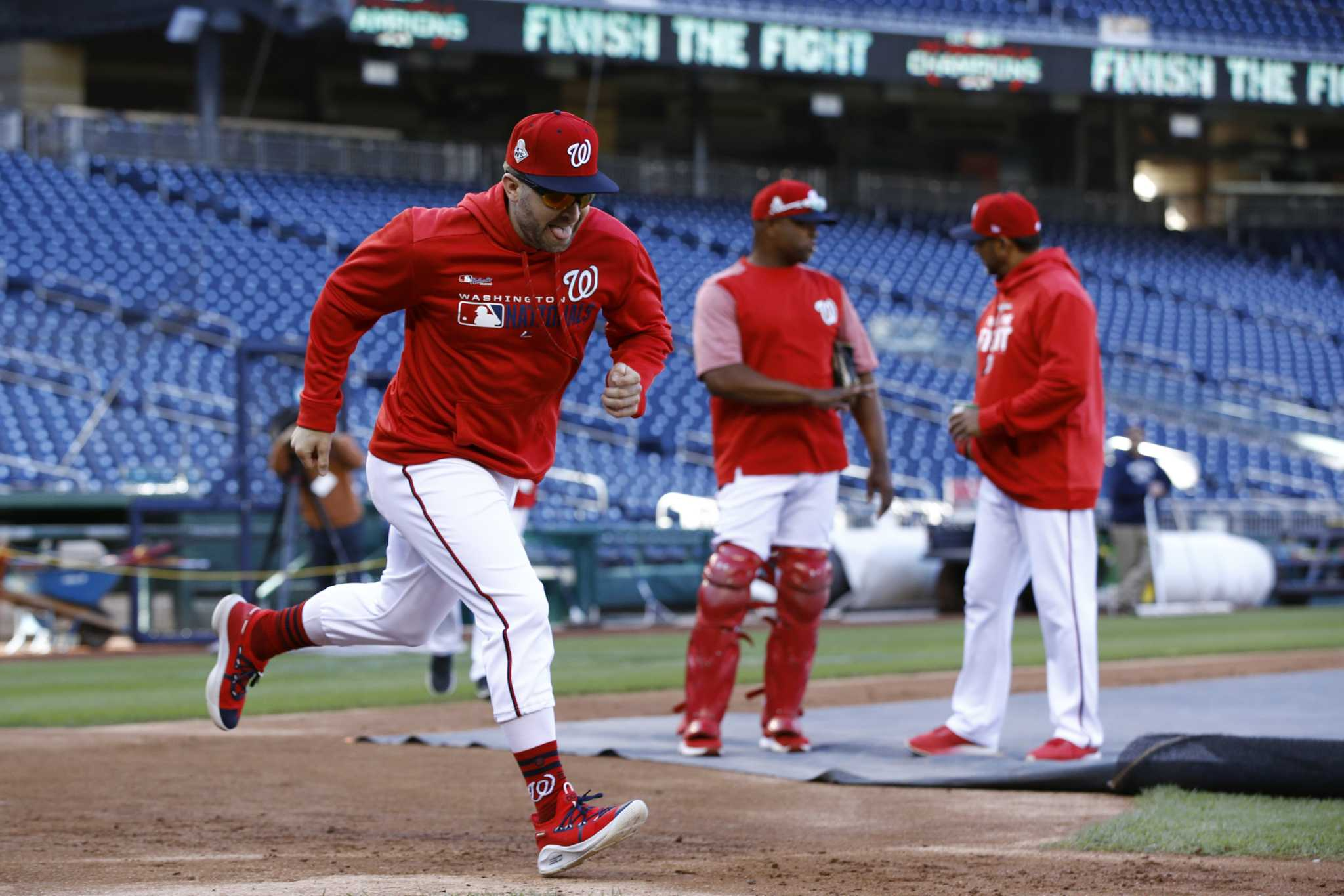 Waiting game: Nationals get six days off