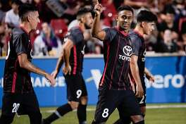 San Antonio FC couldn't hold on to a two-goal lead in the second half and played to a 2-2 tie with Colorado Springs Switchbacks FC. The result eliminated the local team from the United Soccer League playoffs.