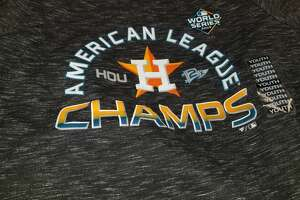 Academy Sports and Outdoors was among the first stores to sell Houston Astros AL Champions gear.