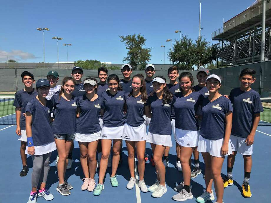 The Alexander tennis team plays on Tuesday in Roma in the regional quarterfinals against McAllen Memorial. Photo: Courtesy Of Alexander Athletics