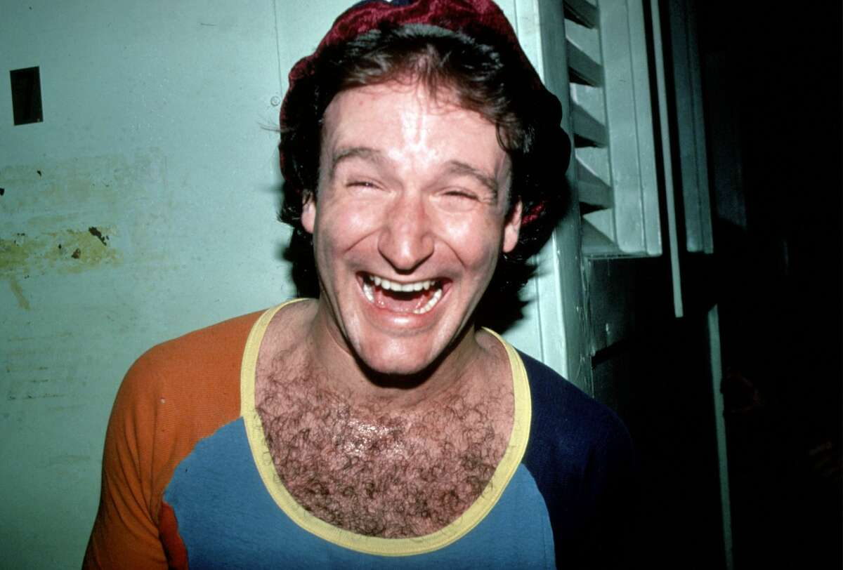 Robin Williams circa 1980 in New York. (Photo by Sonia Moskowitz/Images/Getty Images)