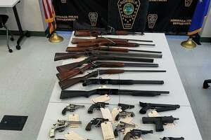 Norwalk Police department collected 42 firearms at its Community Gun Buyback on Oct. 19, 2019.