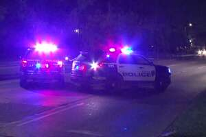 A 42-year-old woman died after being struck by a SUV late Saturday in Alief, police said.