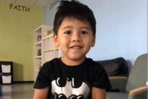 Harris County Sheriff's deputies are searching for the parents or guardian of a three-year-old boy found early Sunday near Village Creek.