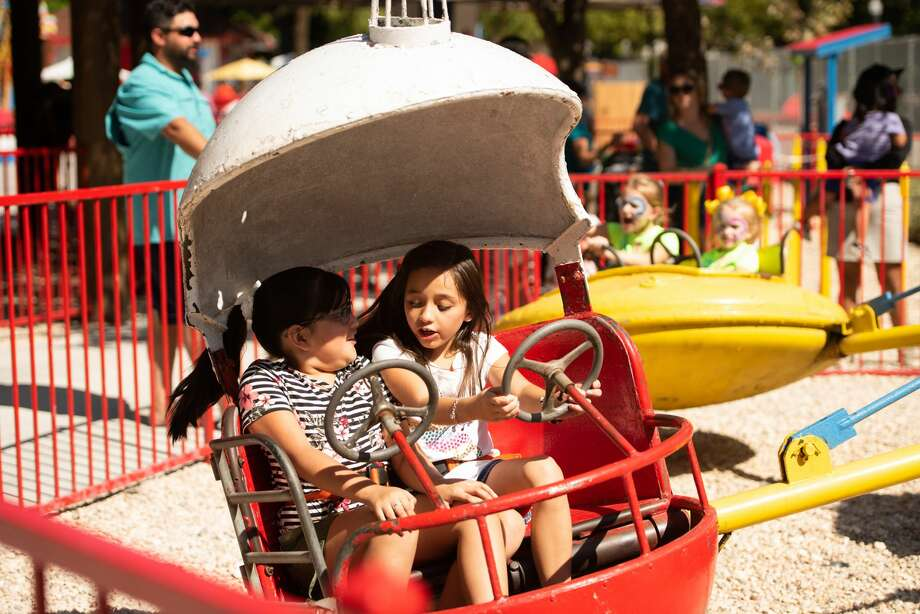 The San Antonio Zoo announced Monday that will be reopen their popular Kiddie Park on starting this weekend. Photo: Aiessa Ammeter