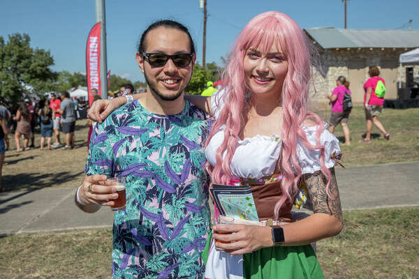 San Antonians celebrated the 14th Annual San Antonio Beer Festival near Nolan St. on Saturday, October, 19, 2019.
