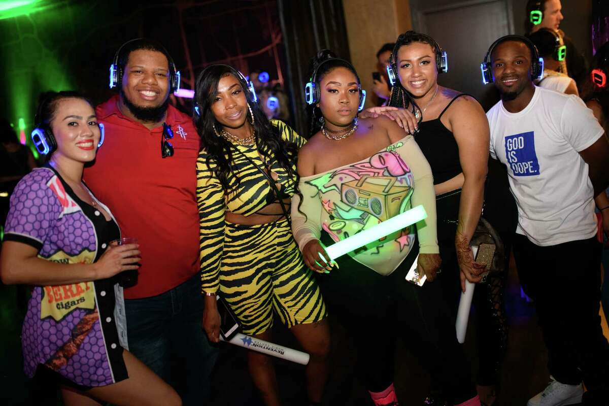 Silent Disco at 40 Below in Downtown Houston on Saturday, October 19, 2019