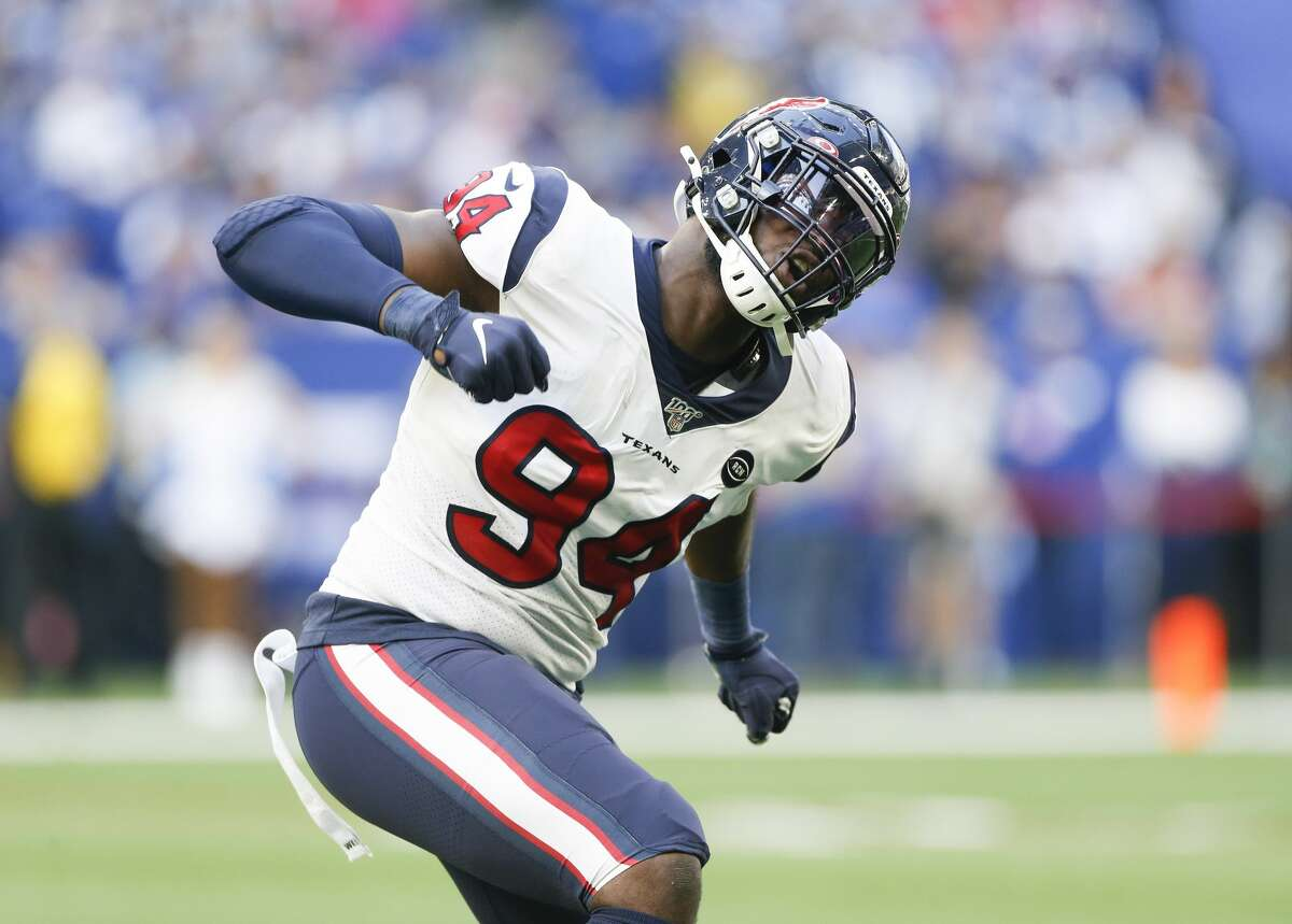 The Texans will be relying more on rookie Charles Omenihu as everyone on defense must step up to replace J.J. Watt.