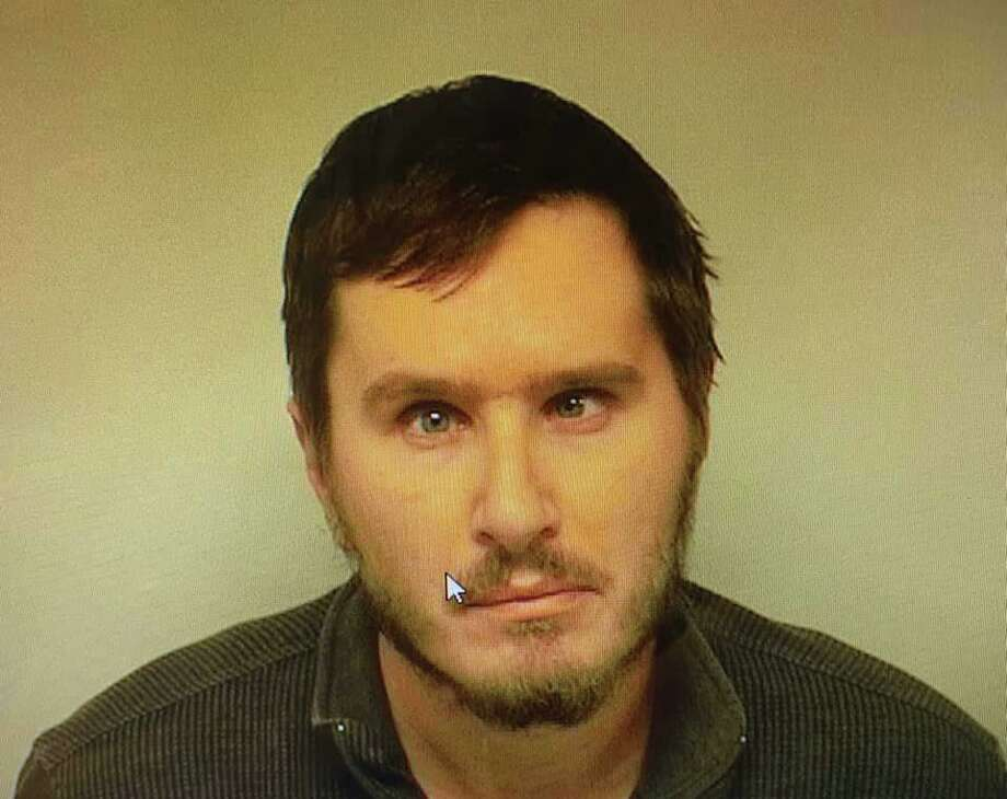 Plymouth police arrested Ryan Marchetti, 35, on Oct. 18, 2019 after allegedly finding 126 bags of heroin in his car. Photo: Plymouth Police Department / Contributed