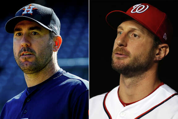 The Astros' Justin Verlander and Nationals' Max Scherzer, former teammates in Detroit, are two of the marquee starting pitchers in this year's World Series.