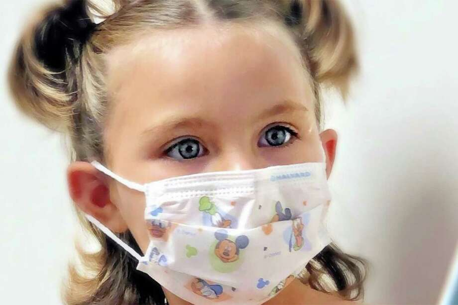 The shortage of the drug vincristine has imperiled leukemia treatment for Hazel Crowfoot, 6, of Lehi, Utah,  her mother says. Photo: Veronica Crowfoot's Instagram, TNS / Veronica Crowfoot's Instagram