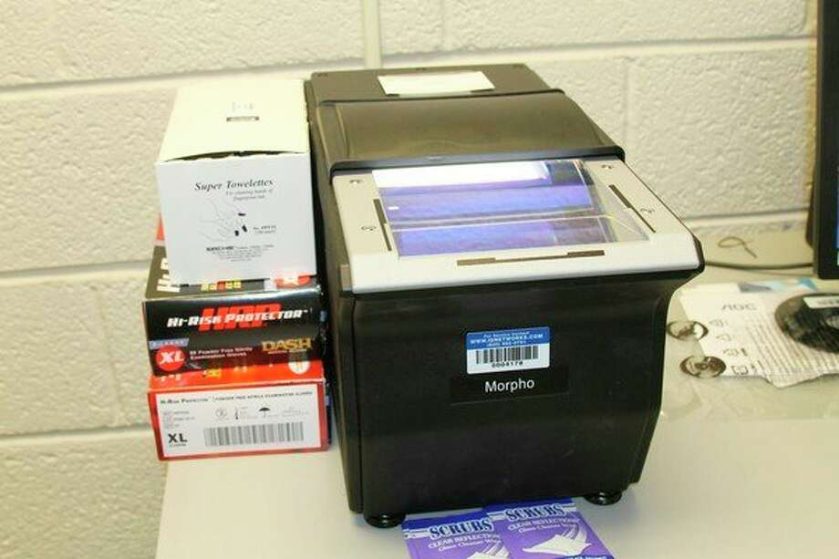 Fingerprinting services can now be held at the Manistee County Courthouse thanks to new equipment. (Ashlyn Korienek/News Advocate)