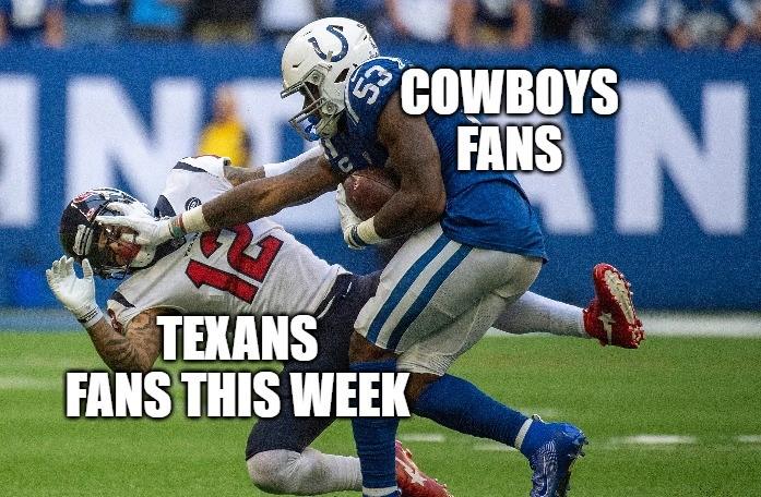 Memes praise Cowboys, mock Texans after Week 7