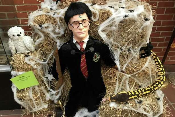 Cromwell will hold It's second annual scarecrow contest, the brainchild of Senior Center Director Amy Saada. Harry Potter was created by Lisa Olson, Human Services Department.