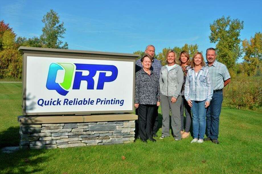 Quick Reliable Printing, a Midland-based printing company, is owned by Nancy and Bob Anderson and has employed their adult children -- Amy Anderson, Rob Anderson, Jenny Schaefer and Melissa Anderson -- at one point, if not currently. (Ashley Schafer/Ashley.Schafer@hearstnp.com)