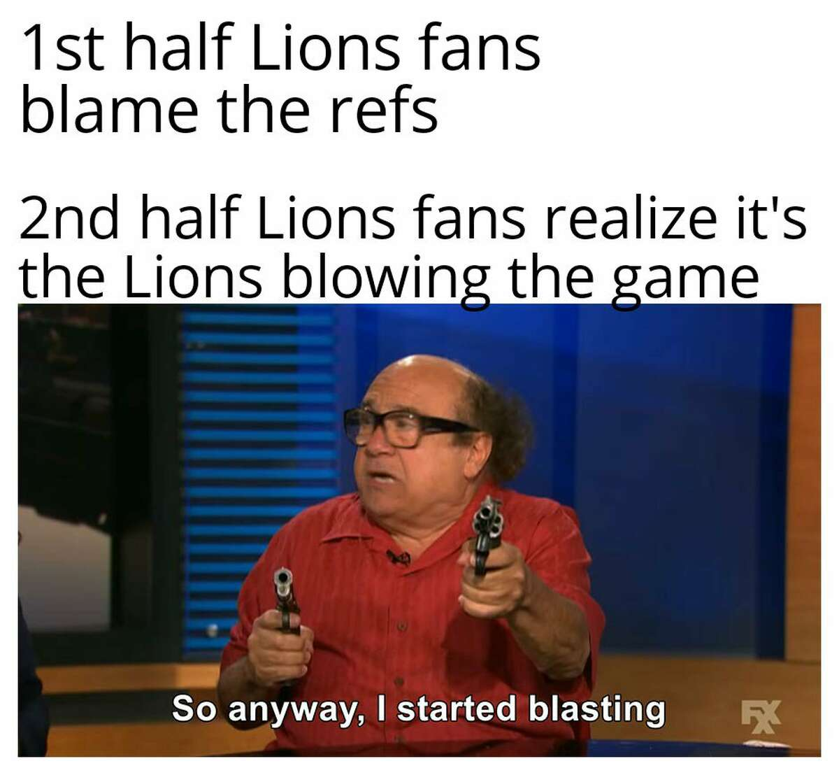 Fans react to the Detroit Lions' loss on Sunday, Oct. 20, 2019 to the Minnesota Vikings.