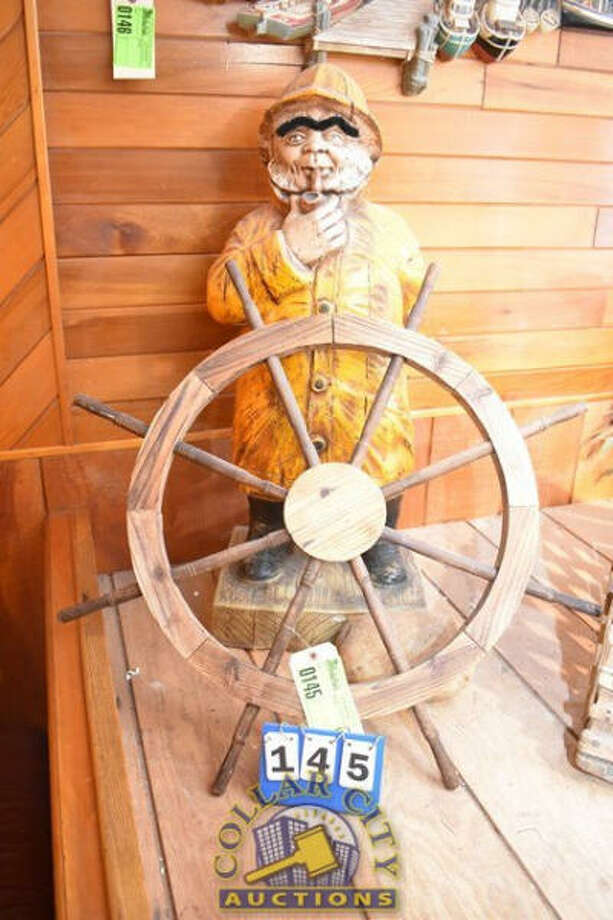 Collar City Auctions is accepting online bids through 11 a.m. today (10/21) for furniture, fixtures, equipment, etc., from the former Salty's Pub, which closed at the end of September after more than 40 years in business. Photo: Collar City Auctions