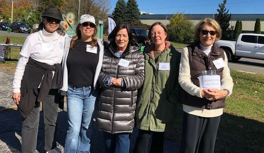 Trumbull Community Women (TCW) held another successful shredding event at the Trumbull Nature and Arts Center on Saturday, Oct. 19, from 9 a.m.-noon. Helping at the event are TCW members Liz Thomas, Julie Howes, Terri Malo, Duly Chiapetta and Sheila Hayes. Photo: Contributed Photo